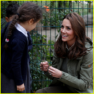 Duchess Kate Middleton Has the Loveliest Response When Little Girl Asks Why She's Being Photographed