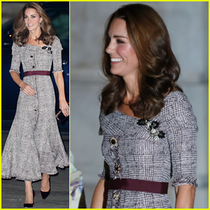 Duchess Kate Middleton Visits the Victoria & Albert Museum in Her Special Role as Patron!