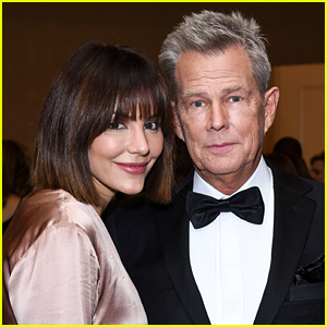 Katharine McPhee Joins Fiance David Foster at Carousel of Hope Ball