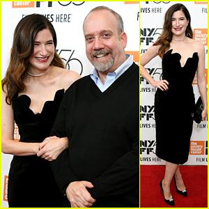 Kathryn Hahn & Paul Giamatti Attend 'Private Life' NYFF Premiere!