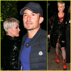 Katy Perry & Orlando Bloom Enjoy Date Night!