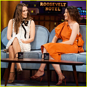 Keira Knightley Reveals Celebrities She Gets Mistaken For on 'Late Late Show'!