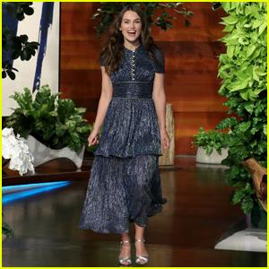 Keira Knightley Tells 'Ellen' Her Daughter Is Banned From Watching 'Little Mermaid' & 'Cinderella'!