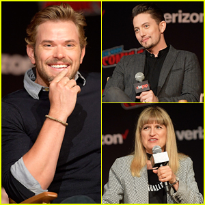Kellan Lutz & Jackson Rathbone Reunite at Comic Con 'Twilight' 10th Anniversary!