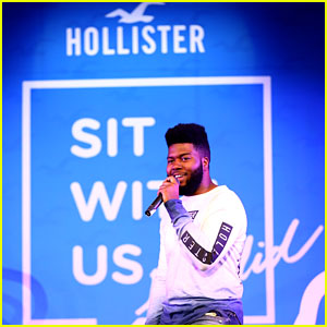 Khalid Performs at Hollister x Sit With Us Anti-Bullying Event in Burbank!