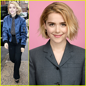 Kiernan Shipka Talks How She Loves The Feeling Of Being Scared