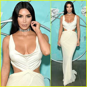 Kim Kardashian Brings the Glam to Tiffany & Co.'s Blue Book Gala