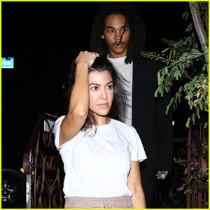 Kourtney Kardashian Gets Dinner With Luka Sabbat Again Amid Dating Rumors