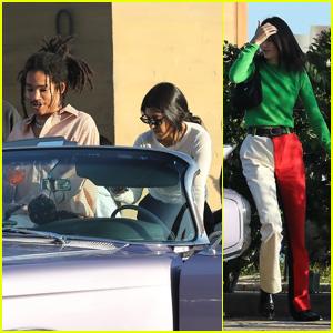 Kourtney Kardashian Hangs With Rumored Love Interest Luka Sabbat & Kendall Jenner!