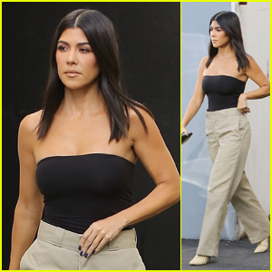 Kourtney Kardashian Heads Out After a Day of Filming 'KUWTK' in LA!