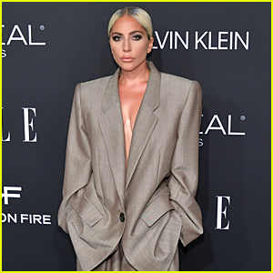 Lady Gaga Explains the Powerful Reason Behind Her Choice to Wear This Suit at Elle's Event