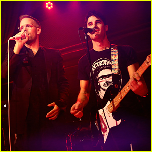Darren Criss Performs With Justin Tranter at Beyond Spirit Day Concert