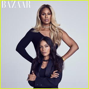 Laverne Cox & Rosario Dawson Are 'Women Who Dare' in Harper's Bazaar