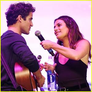 Lea Michele & Darren Criss Cover A Star Is Born's 'Shallow'