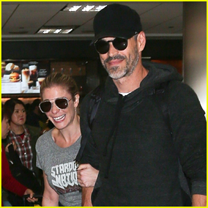 LeAnn Rimes & Eddie Cibrian are All Smiles Jetting into LAX!
