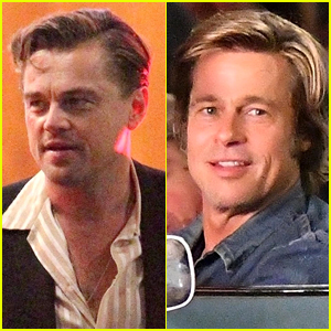 Leonardo DiCaprio & Brad Pitt Film New Scenes for 'Once Upon a Time in Hollywood'
