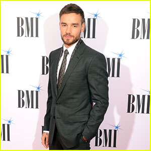 Liam Payne Suits Up While Attending BMI Awards in London