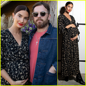 Pregnant Lily Aldridge Hosts goop on the Farm Event, Gets Support From Hubby Caleb Followill