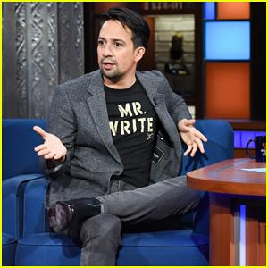 Lin-Manuel Miranda Reveals Funny 'Hamilton' UK Audience Response on 'Late Show'!