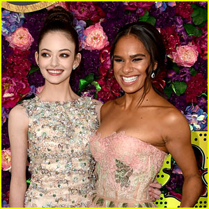 Mackenzie Foy & Misty Copeland Are Fresh in Floral at 'Nutcracker & the Four Realms' Premiere