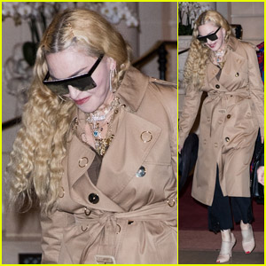 Madonna Attends Premiere of Jean Paul Gaultier's 'Fashion Freak Show' in Paris!