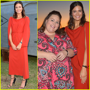 Mandy Moore Reunites With Chrissy Metz at Fossil Dinner in Malibu!