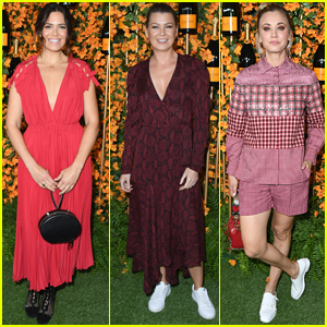 Mandy Moore, Ellen Pompeo, & Kaley Cuoco Step Out for Veuve Clicquot Polo Classic!
