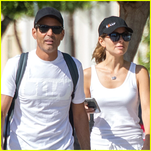 Maria Menounos & Husband Keven Undergaro Check Out Greece on Their Honeymoon!