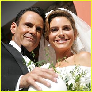 Maria Menounos Gets Married Again - See Wedding Photos!