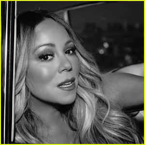 Mariah Carey Drops Black & White 'With You' Music Video!