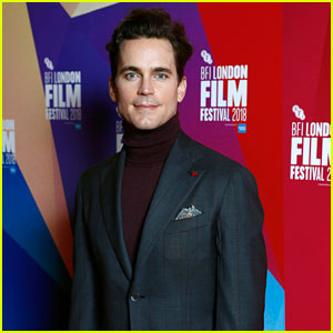 Matt Bomer Premieres 'Papi Chulo' at BFI London Film Festival
