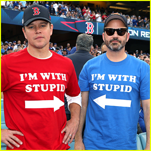 Matt Damon & Jimmy Kimmel Bring Their Longtime Feud to the World Series