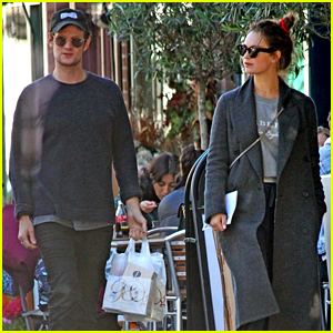 Matt Smith & Lily James Step Out for a Shopping Trip in London