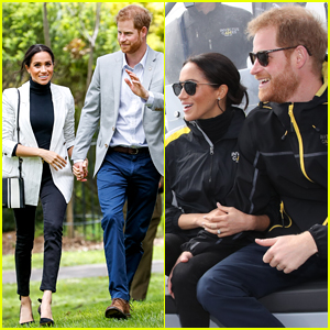 Duchess Meghan Markle Joins Prince Harry to Watch Invictus Games!