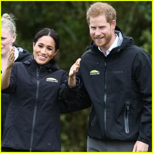 Meghan Markle & Prince Harry Toss Rain Boots in New Zealand!