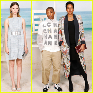 Mia Goth, Pharrell Williams & More Step Out for Chanel's Paris Fashion Week Show!