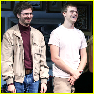 Michael Cera & Lucas Hedges Take A Bow at 'The Waverly Gallery' Opening Night!