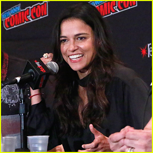 Michelle Rodriguez Promotes 'The Limit' at NY Comic-Con 2018!