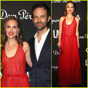 Natalie Portman & Husband Benjamin Millepied Step Out for L.A. Dance Project Gala 2018!