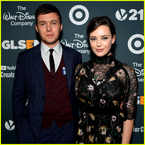 Nick Robinson & Katherine Langford Celebrate 'Love, Simon' at GLSEN Respect Awards