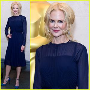 Nicole Kidman Helps Welcome New Members to the Academy