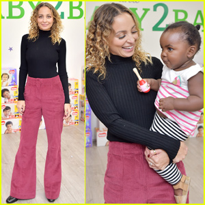 Nicole Richie Celebrates 'Huggies' Charitable Milestone With Baby2Baby