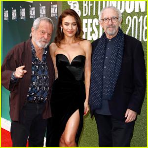 Olga Kurylenko Stuns at 'Man Who Killed Don Quixote' Premiere at London Film Fest