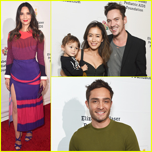 Olivia Munn, Jonathan Rhys Meyers & Family Step Out for 'A Time For Heroes' Festival!