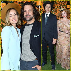 Olivia Wilde & Jason Sudeikis Couple Up for Veuve Clicquot Polo Classic!