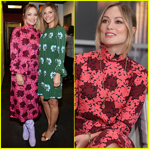 Olivia Wilde & Maria Menounos Buddy Up at Good Day New York!