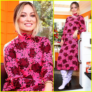 Olivia Wilde Visits Tiny Home That Literally Runs on Dunkin!