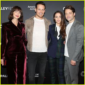Caitriona Balfe & Sam Heughan Talk 'Outlander' Season 4 at Paleyfest!