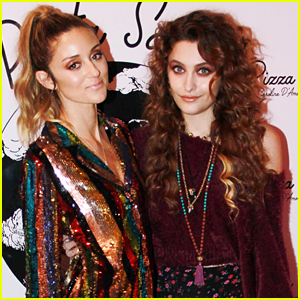 Paris Jackson Attends Pizza Girl by Caroline D'Amore Tasting Dinner Party!