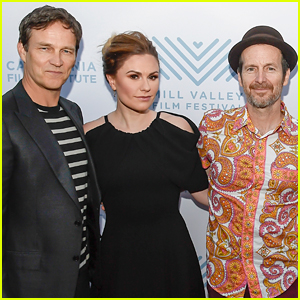 True Blood's Anna Paquin, Stephen Moyer, & Denis O'Hare Reunite on the Red Carpet for Their New Movie!